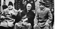 Главы Англии, США и СССР в Ялте